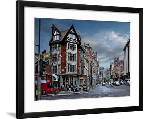 Pizza Hut Kensington, London-Anna Siena-Framed Art Print