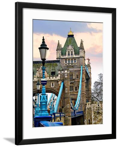 Tower Bridge-Anna Siena-Framed Art Print