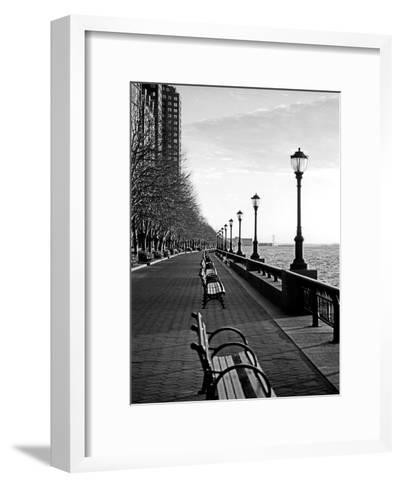 Battery Park City I-Jeff Pica-Framed Art Print