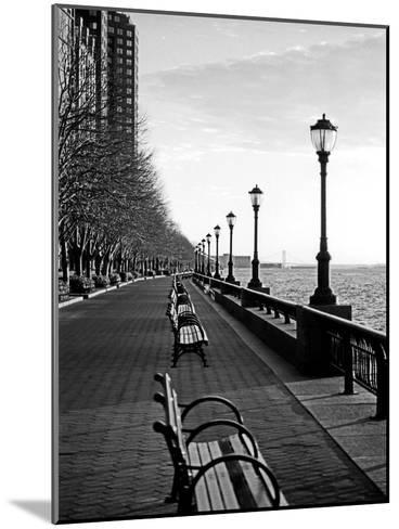 Battery Park City I-Jeff Pica-Mounted Photographic Print