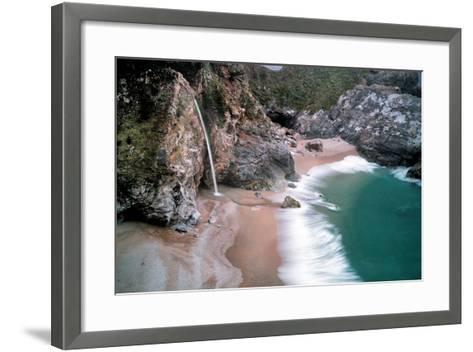 Waterfall-Dennis Frates-Framed Art Print