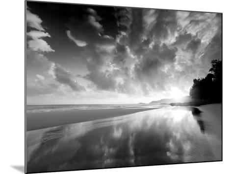 Sunset Beach-Dennis Frates-Mounted Photographic Print