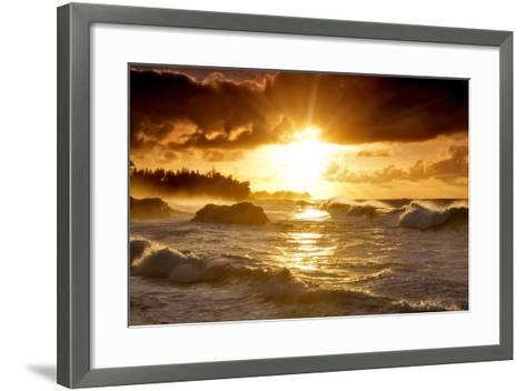 Sunset-Dennis Frates-Framed Art Print