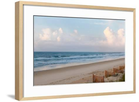 Beach Day-Kathy Mansfield-Framed Art Print
