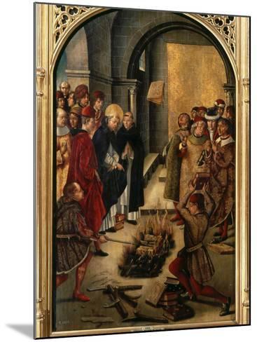 Saint Dominic or Domingo Guzman of Castile, 1170-1221 Founded Dominican Order-Pedro Berruguete-Mounted Photographic Print