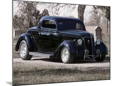 Billy F. Gibbons Hot Rod-David Perry-Mounted Photographic Print