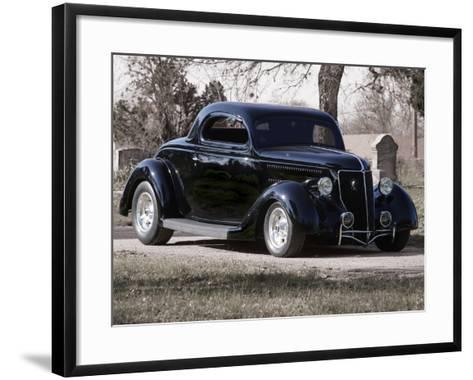 Billy F. Gibbons Hot Rod-David Perry-Framed Art Print