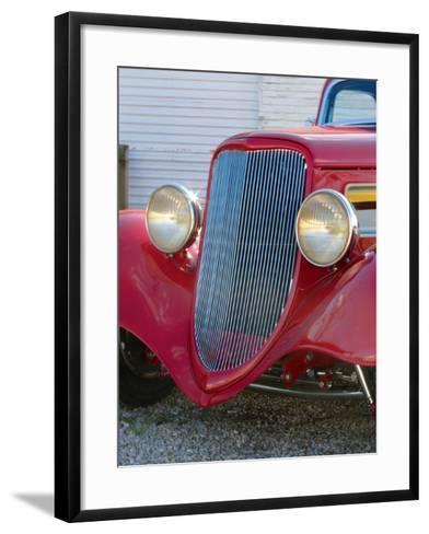 Billy F. Gibbons ZZ Top Car-David Perry-Framed Art Print