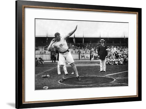 Pat MacDonald at the 1912 Summer Olympics in Stockholm, 1912--Framed Art Print