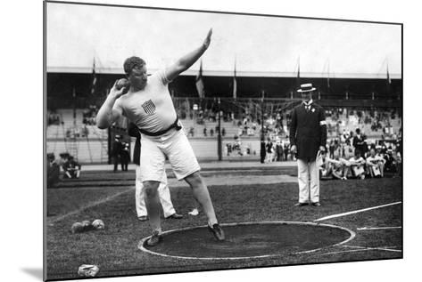 Pat MacDonald at the 1912 Summer Olympics in Stockholm, 1912--Mounted Photographic Print