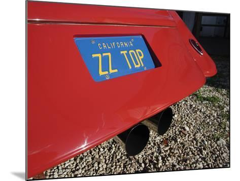 Billy F. Gibbons ZZ Top Car-David Perry-Mounted Photographic Print