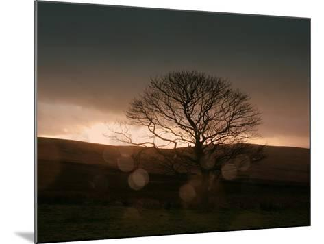Stormy Sunset II-Lillian Bell-Mounted Photographic Print