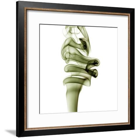 Smoke--Framed Art Print