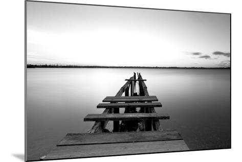 Old Pier--Mounted Photographic Print