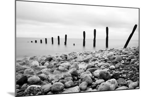 Beach Pebbles--Mounted Photographic Print