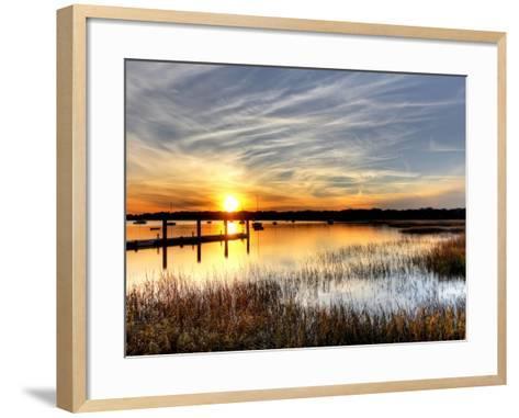 The Fjord--Framed Art Print