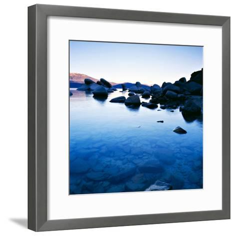 Blue Rocks-PhotoINC-Framed Art Print