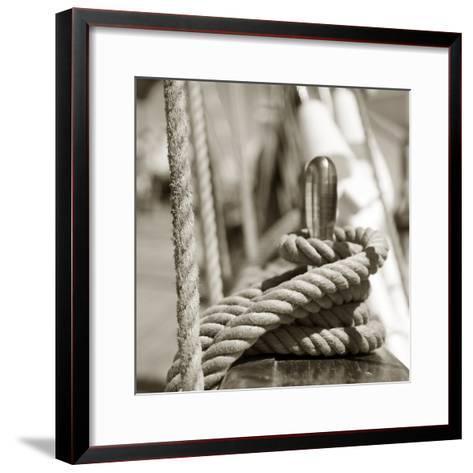 Sail Rope--Framed Art Print