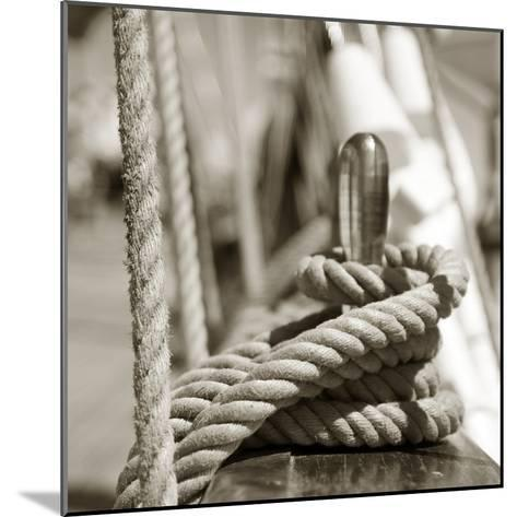Sail Rope--Mounted Photographic Print