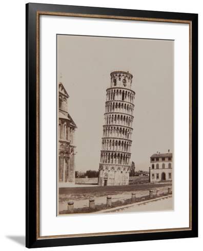 Pisa, the Leaning Tower, Ca, 1855-Enrico Van Lint-Framed Art Print