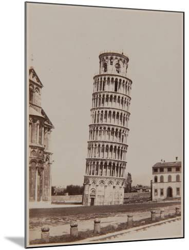 Pisa, the Leaning Tower, Ca, 1855-Enrico Van Lint-Mounted Photographic Print