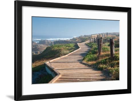 Boardwalk-Dennis Frates-Framed Art Print