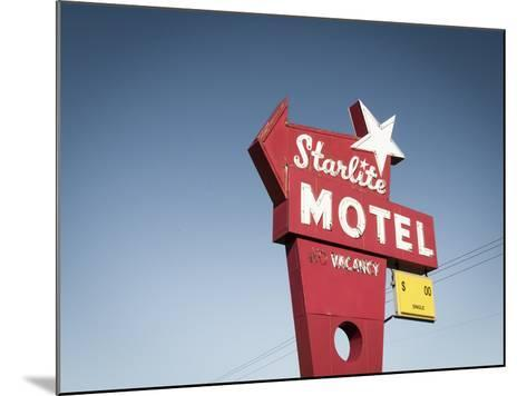 Vintage Motel VI-Recapturist-Mounted Photographic Print