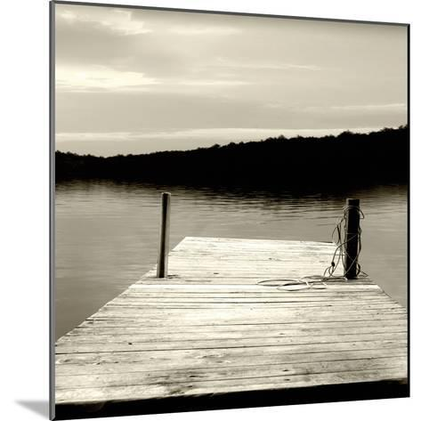Twilight Dock III--Mounted Photographic Print