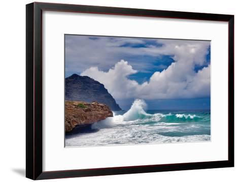 Wave Hello-Dennis Frates-Framed Art Print
