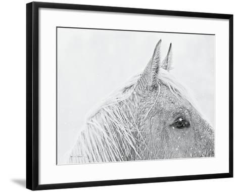 Snow Daze I Crop-Lisa Cueman-Framed Art Print