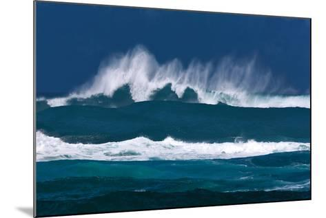 Rolling Waves-Dennis Frates-Mounted Photographic Print