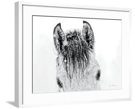 Snow Daze II Crop-Lisa Cueman-Framed Art Print