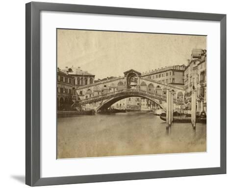 Venice-Giacomo Brogi-Framed Art Print