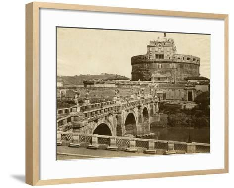 Caste of St. Angelo-Giacomo Brogi-Framed Art Print
