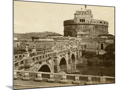 Caste of St. Angelo-Giacomo Brogi-Mounted Photographic Print