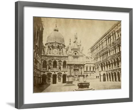 Doge's Palace-Giacomo Brogi-Framed Art Print