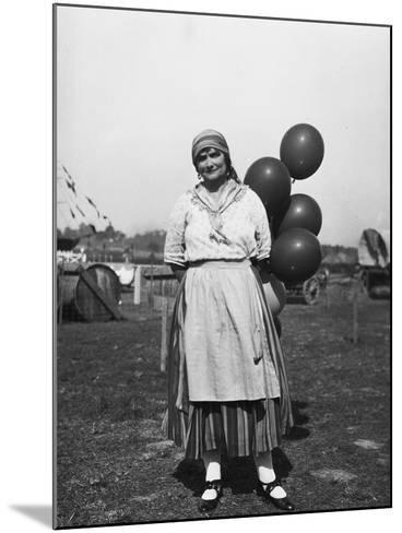 Balloon Seller--Mounted Photographic Print