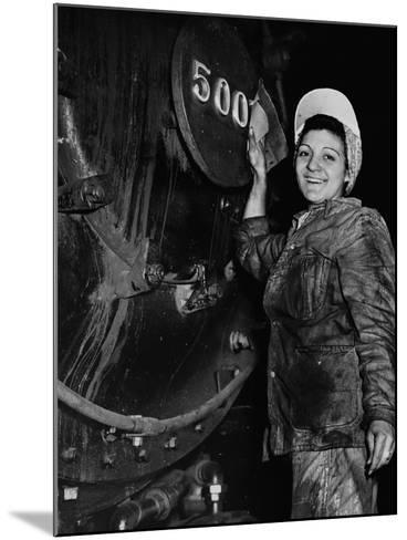 Women of the Rails--Mounted Photographic Print