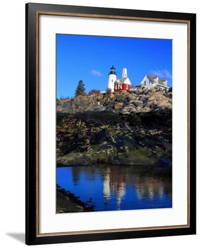 Pemaquid Point II-Jason Veilleux-Framed Art Print