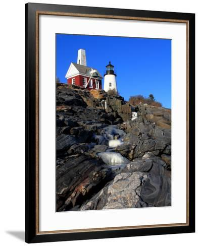Pemaquid Point I-Jason Veilleux-Framed Art Print
