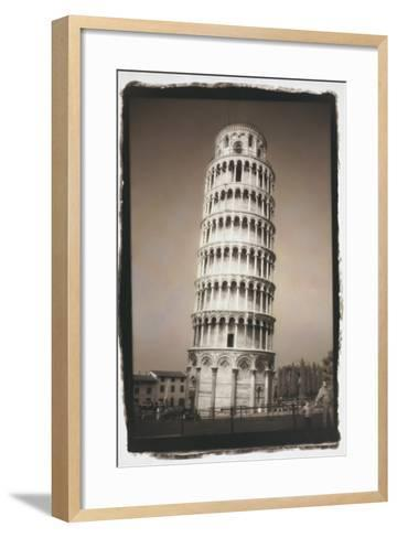 Leaning Tower of Pisa-Theo Westenberger-Framed Art Print