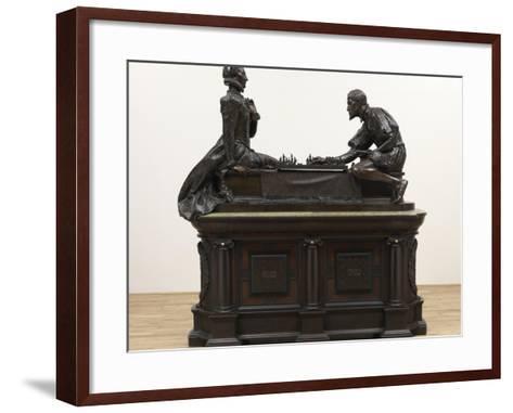 A Royal Game-William Reynolds-Stephens-Framed Art Print