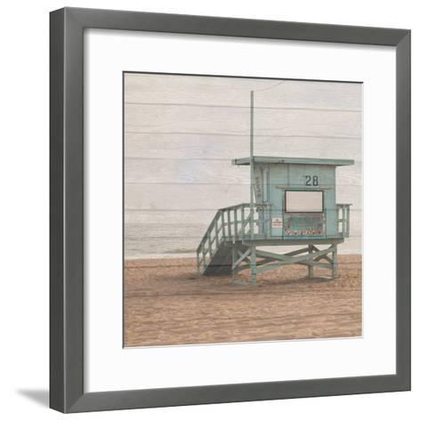 Life Guard White Wash-Susan Bryant-Framed Art Print