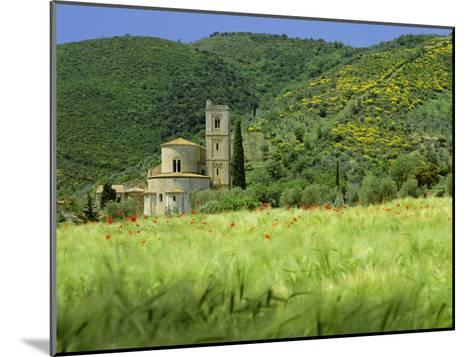 Abbey of Sant' Antimo, Near Montalcino, Tuscany. Exterior-Joe Cornish-Mounted Photographic Print