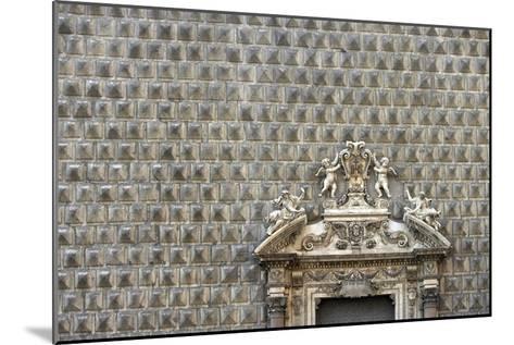 Palazzo Sanseverino, Piazza Del Gesu Nuovo, Naples-Richard Bryant-Mounted Photographic Print