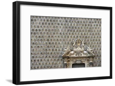 Palazzo Sanseverino, Piazza Del Gesu Nuovo, Naples-Richard Bryant-Framed Art Print
