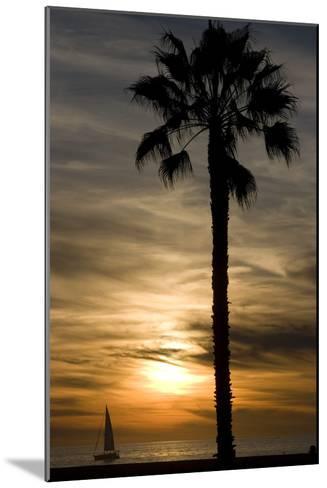 Sunset, Santa Monica Beach-Natalie Tepper-Mounted Photographic Print