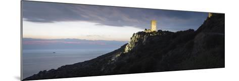 Horizontal, Tainaron Blue Retreat in Mani, Greece-George Meitner-Mounted Photographic Print