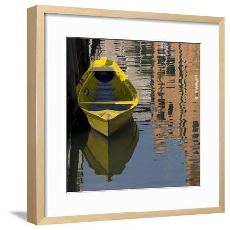 Venice Sense of Place-Mike Burton-Framed Art Print
