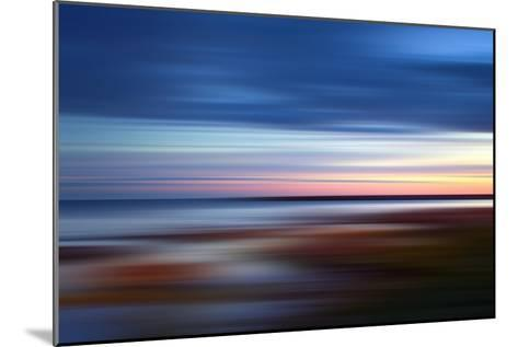 Blue on the Horizon-Andrew Michaels-Mounted Photographic Print